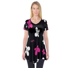 Butterfly Short Sleeve Tunic
