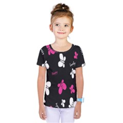 Butterfly Kids  One Piece Tee