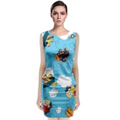 Bear Aircraft Classic Sleeveless Midi Dress