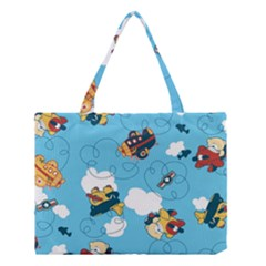 Bear Aircraft Medium Tote Bag