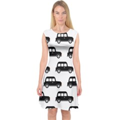 Car Capsleeve Midi Dress
