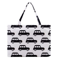 Car Medium Zipper Tote Bag