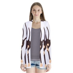 Colorful Animal Monkey Cardigans