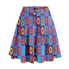 Batik High Waist Skirt