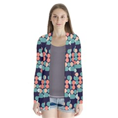 Coral Mint Color Style Cardigans