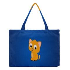 Cute Cat Medium Tote Bag