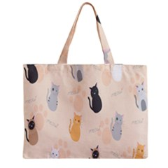 Cute Cat Meow Animals Medium Tote Bag