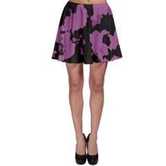 Pink Camouflage Skater Skirts