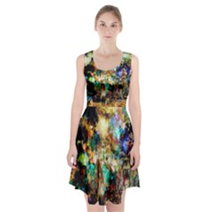 Abstract Digital Art Racerback Midi Dress