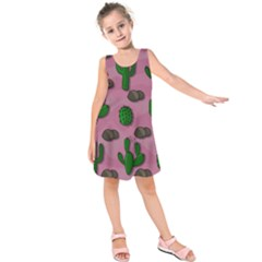 Cactuses 2 Kids  Sleeveless Dress