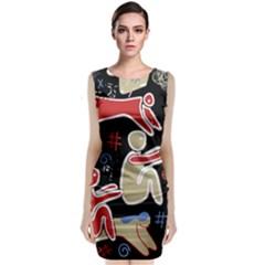 Family Classic Sleeveless Midi Dress