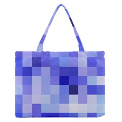 Pixie Blue Medium Zipper Tote Bag