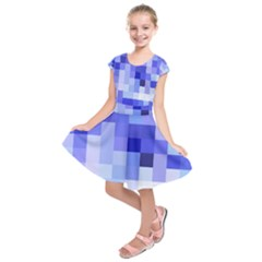 Pixie Blue Kids  Short Sleeve Dress