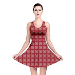 Christmas Paper Pattern  Reversible Skater Dress