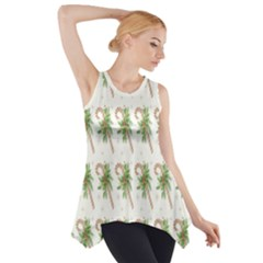Candy Cane Printable Side Drop Tank Tunic