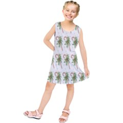 Candy Cane Printable Kids  Tunic Dress