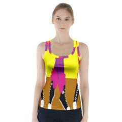 Foot Dance Racer Back Sports Top