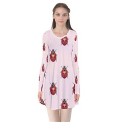Insect Animals Cute Flare Dress