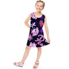 Monkey Face Cute Kids  Tunic Dress