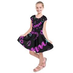 Paper Tape Kids  Short Sleeve Dress