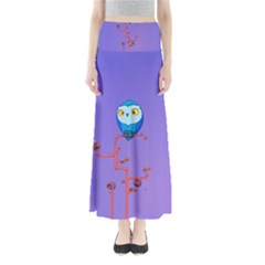 Owl Spider Maxi Skirts