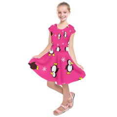 Penguin Kids  Short Sleeve Dress