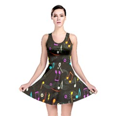 Fabric Cloth Textile Clothing Reversible Skater Dress