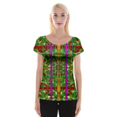 A Gift Given By Love Women s Cap Sleeve Top