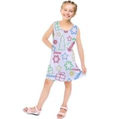 Simple Christmas pattern Kids  Tunic Dress