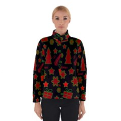 Red and green Xmas pattern Winterwear