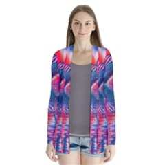 Cosmic Heart Of Fire, Abstract Crystal Palace Cardigans