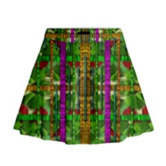 A Gift Given By Love Mini Flare Skirt