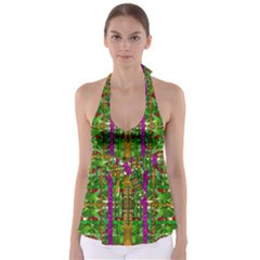 A Gift Given By Love Babydoll Tankini Top