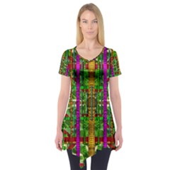 A Gift Given By Love Short Sleeve Tunic