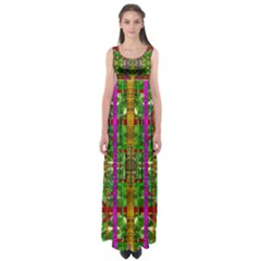 A Gift Given By Love Empire Waist Maxi Dress