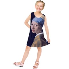 Girl With A Pearl Earring Kids  Tunic Dress