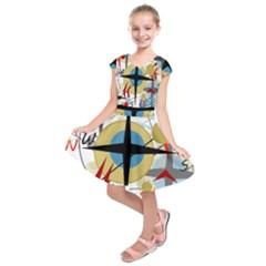 Compass 4 Kids  Short Sleeve Dress