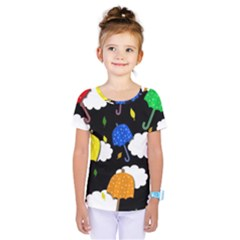 Umbrellas 2 Kids  One Piece Tee