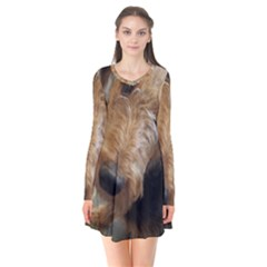 Airedale Terrier 2 Flare Dress