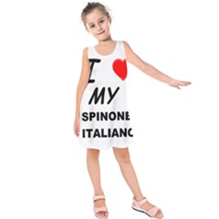 Spinone Love Kids  Sleeveless Dress