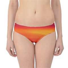 Sunrise Colors Purple Orange Pink Hipster Bikini Bottoms