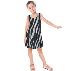 SKN3 BK-GY MARBLE Kids  Sleeveless Dress