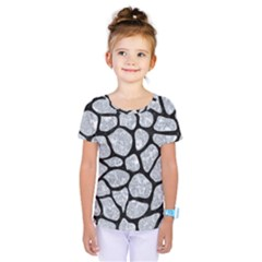 SKN1 BK-GY MARBLE Kids  One Piece Tee