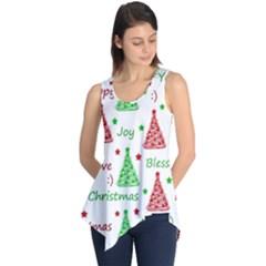 New Year pattern Sleeveless Tunic