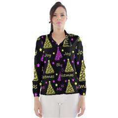 New Year pattern - Yellow and purple Wind Breaker (Women)