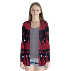 New Year pattern - red Cardigans