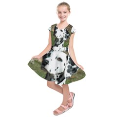 Dalmatian Kids  Short Sleeve Dress