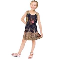 Rottweiler Group Kids  Tunic Dress