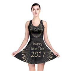Celebration New Year 2017 Reversible Skater Dress