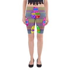 Holidays Occasions Easter Eggs Yoga Cropped Leggings